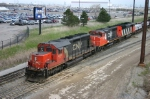 CN 6009 SD 40u Leading CN 9468 and CN 5420 at BIT