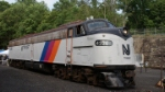 NJ Transit E8 4326 at Boonton