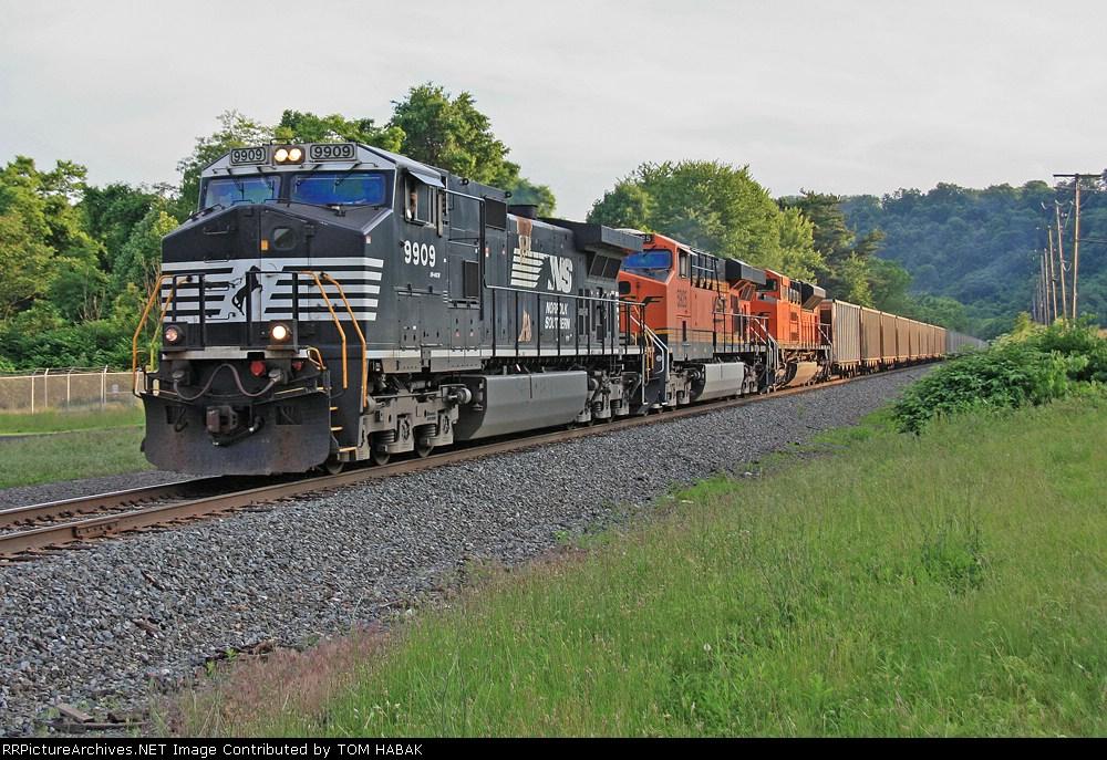 NS 9909 on NS 417