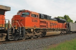 BNSF 9386 on NS 417