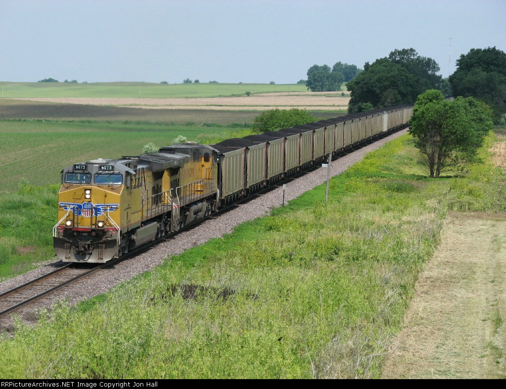 UP 6075 & 7115 work south with CNAKI-12