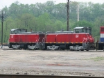 IORY 1501 & 1500 sits in TPW's yard
