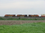 BNSF across the prairie