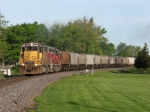 IORY 4008 leads TPW's F-GALEPE back towards Peoria