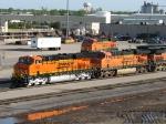 BNSF 7301, 7508 & 6600