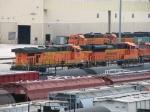 BNSF 5721 & 9332