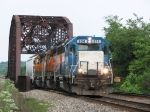 EMDX 826 leads BNSF 2023 & 6878 west with one car