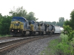 CSX power leads eastward