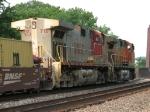 BNSF 712 & 4188