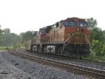 BNSF 4188 & 712 shove west as DPU's