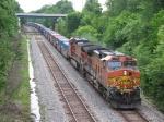 BNSF 4778 & 4791 supply the rear end DPU help