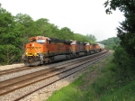 BNSF 7271 leads another eastbound intermodal
