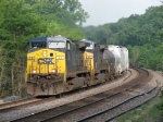 CSX 25 & 67 roll east with M-GALCSX