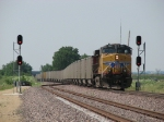 UP 5997 rolls away as the DPU on 2CNAPW-11