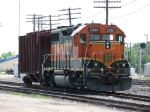 BNSF 2325 awaits more local work