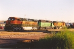 Southbound manifest parked in yard