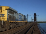 My Q268 parked on the Upper Bay bridge waiting to get into the garden yard