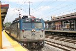 AEM-7 945 brings train 125 into the station on its way to Lynchburg, VA.
