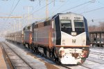 Unusual double-headed PL42AC's lead an NJ Transit train bound for the North Jersey Coast Line