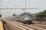 AEM-7 # 936 leads train # 97, bound for Florida