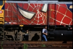 VIA RAIL SPIDERMAN