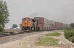 BNSF 5446 racing to the BBQ capital