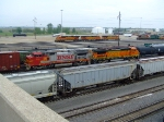 BNSF 538 and 560