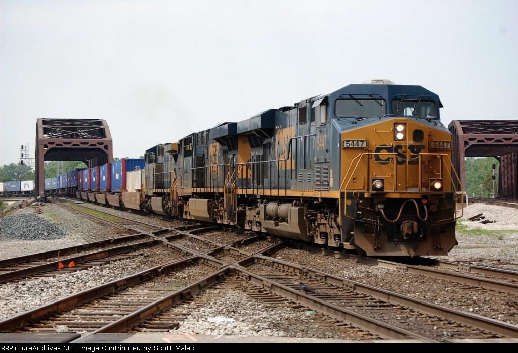 CSX 5447, 5224 & 169