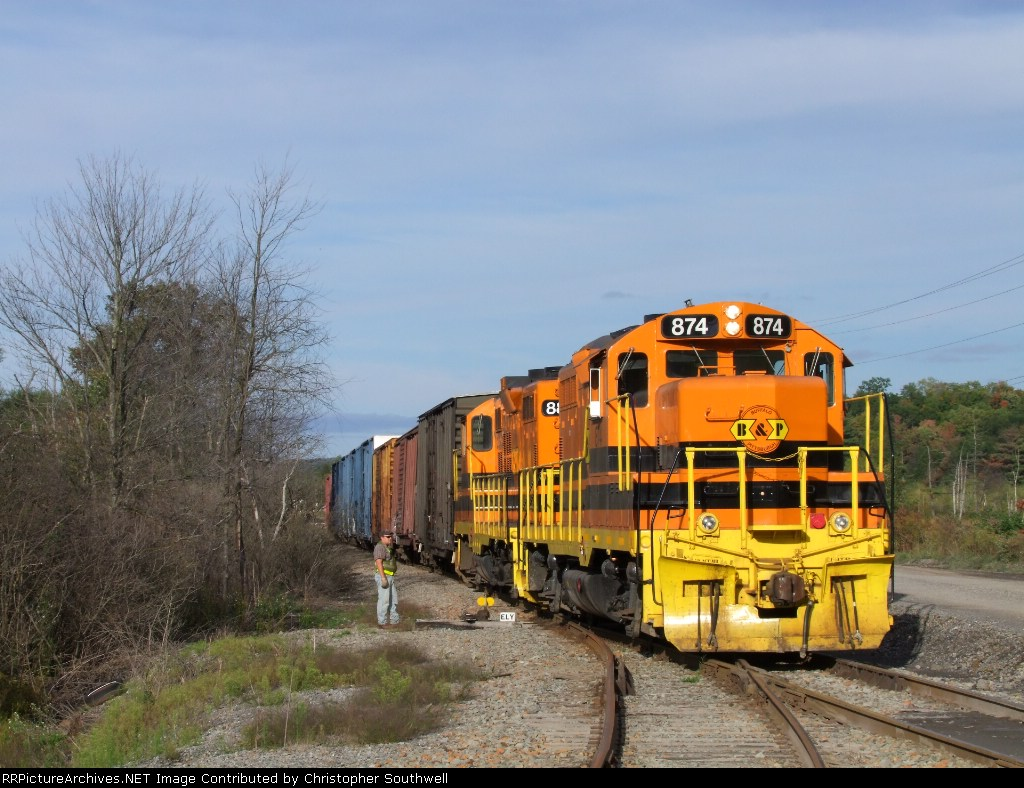 BP 874 and 886 work DB2 on the Wharton IT off of the Laurel line