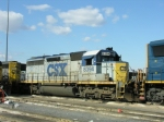 CSX 8394 in stealth paint