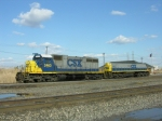 CSX 2463 and 1017 in front of the Top end yard office