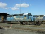 CSX 8851 in Conrail paint