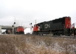CN #393 meets #338 at Chinguacousy Rd