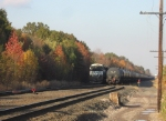 Passing ethanol trains on the Chemical Coast Secondary