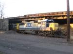 CSX 8621 & 548