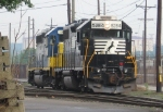 NS 5284 & CSX 4419 switching in Port Reading yard