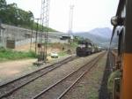 EFVM 822 com trem de manuteno
