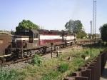 DDM45 822 e DDM45 825 saindo do Ramal da Ipiranga