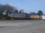 """Elephant Style"" in the Union Pacific yard"