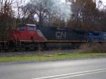 CN 2701 pulls hard