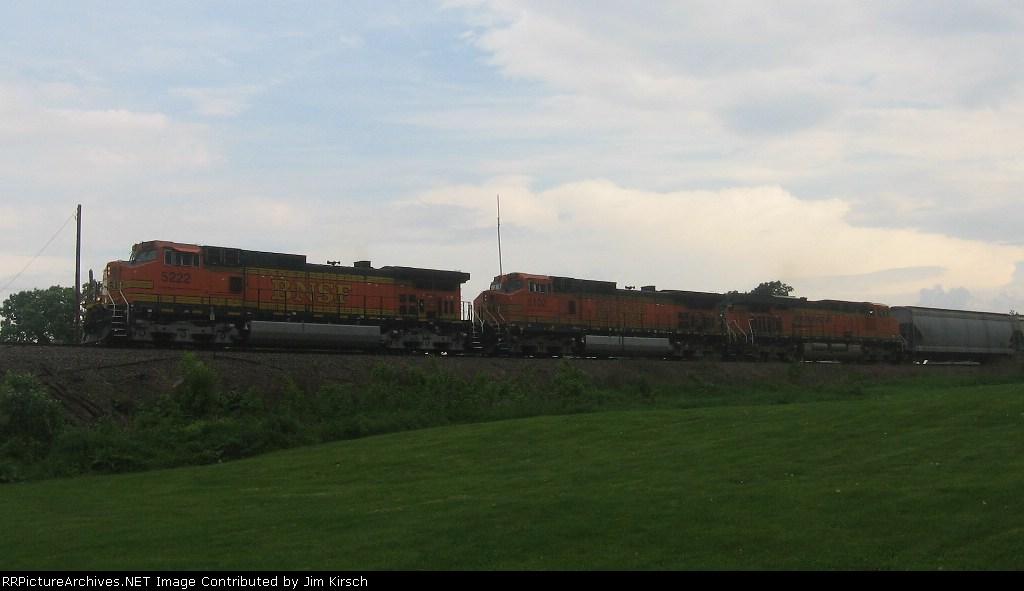 BNSF 5222