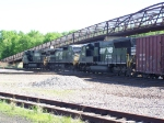 Assorted NS Power on the BNSF Aurora Sub