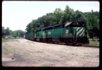 Rare Burlington Northern Power appears at Flomaton