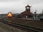 CSX 359 gravel train