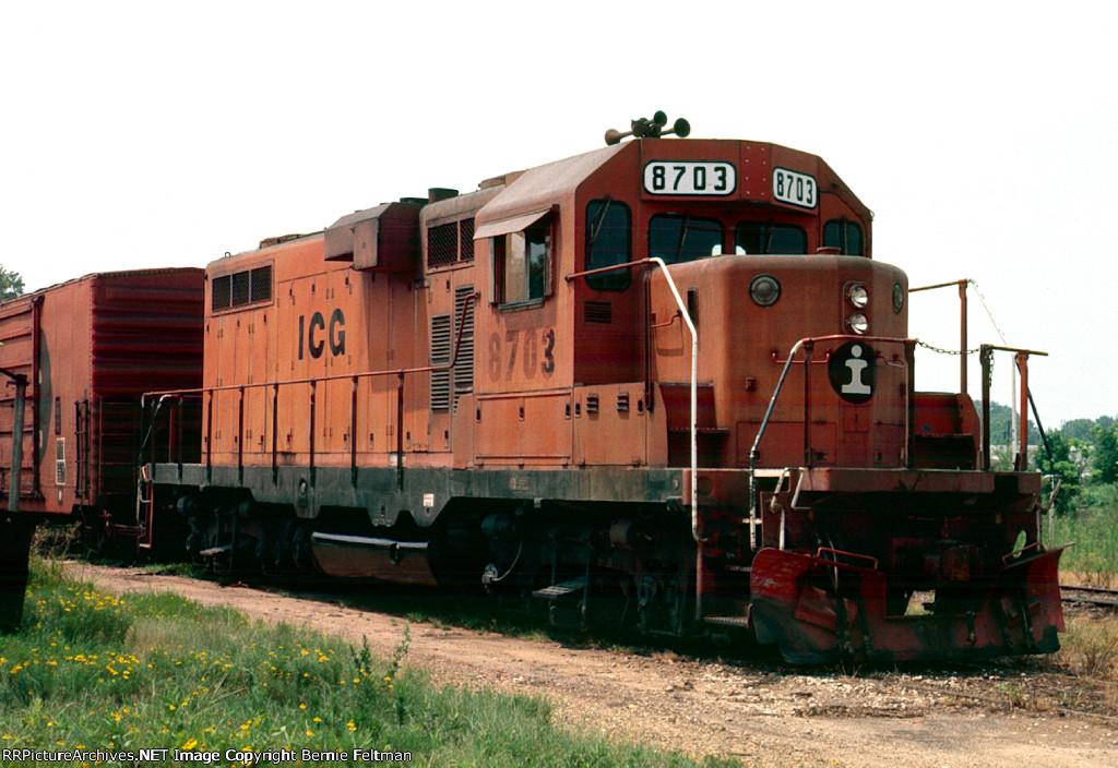 Illinois Central Gulf GP11 #8703