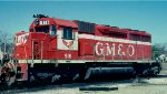 Gulf, Mobile & Ohio SD40 #916
