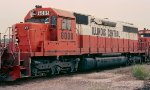 Illinois Central SD40A #6008 at East Thomas Yard