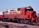 Illinois Central SD40A #6020 in East Thomas Yard