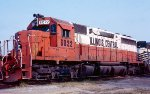 Illinois Central SD40A #6022 in East Thomas Yard