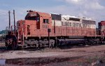 Illinois Central Gulf SD40 #6061 in East Thomas Yard